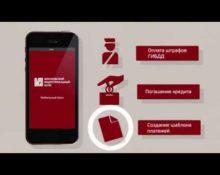 мобильное приложение МИБ